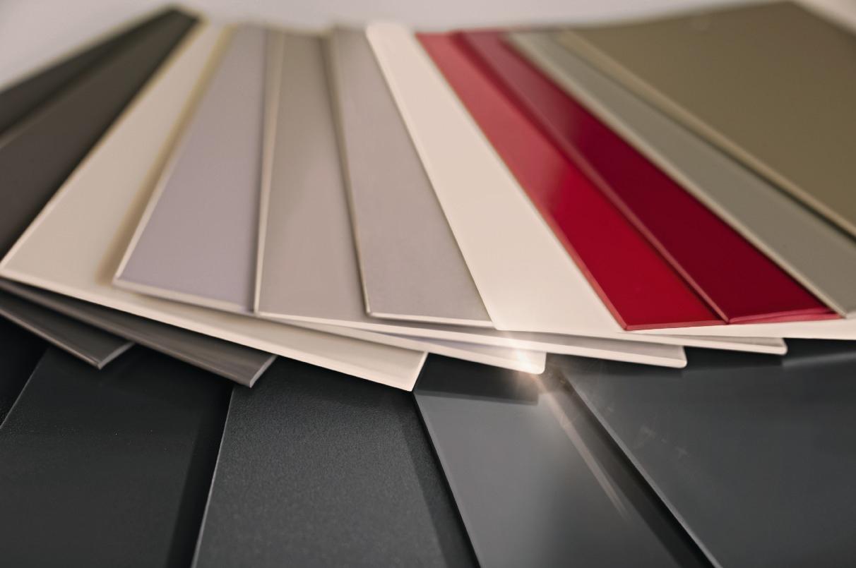 Farben für Aluminiumteile